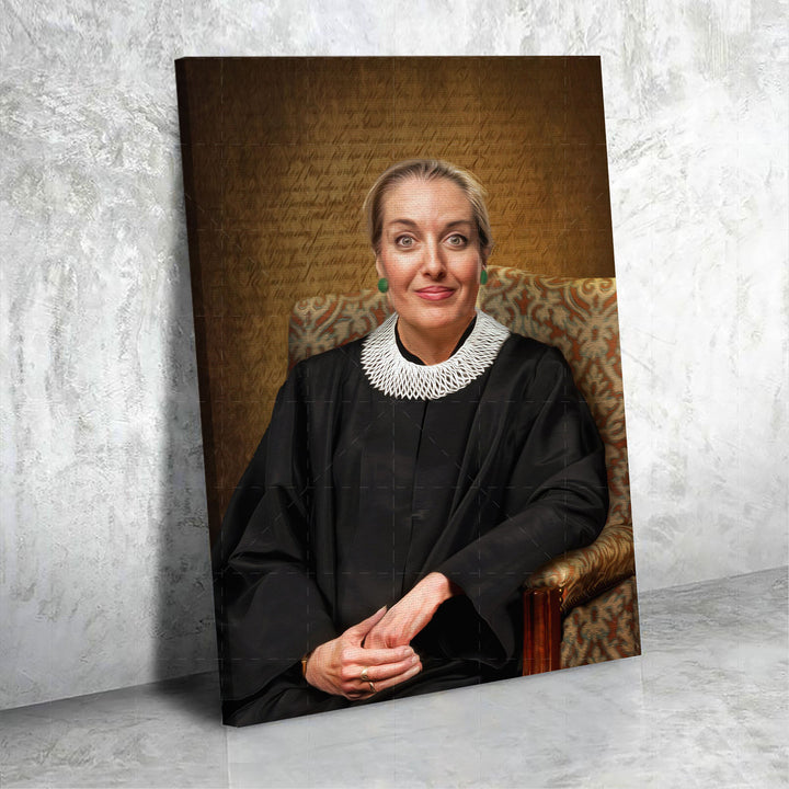 Personalized Canvas Ruth Bader Ginsburg