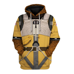 3D Bossk All Over Print Hp54 Hoodie / S