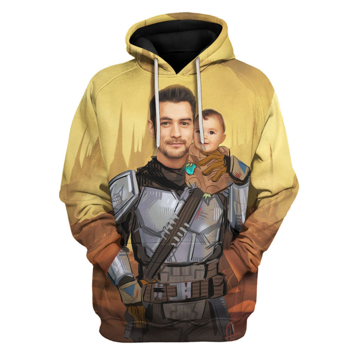 Personalized 3D Hoodie The Unclelorian