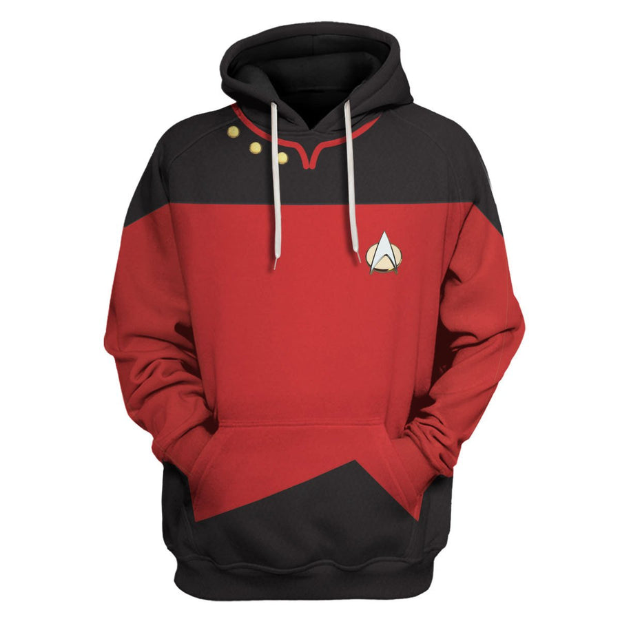 The Next Generation Red Uniform Hp208 Hoodie / S