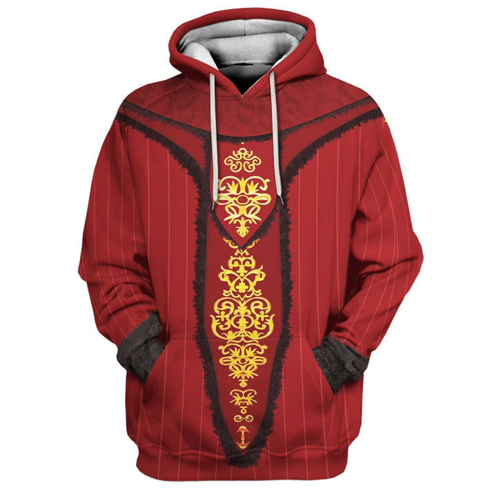 Queen Amidala All Over Print Qm456 Hoodie / S