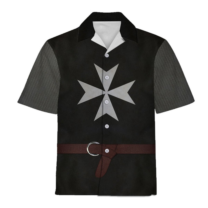 Knights Hospitaller Hawaii Shirt Hawaiian / S Qm764