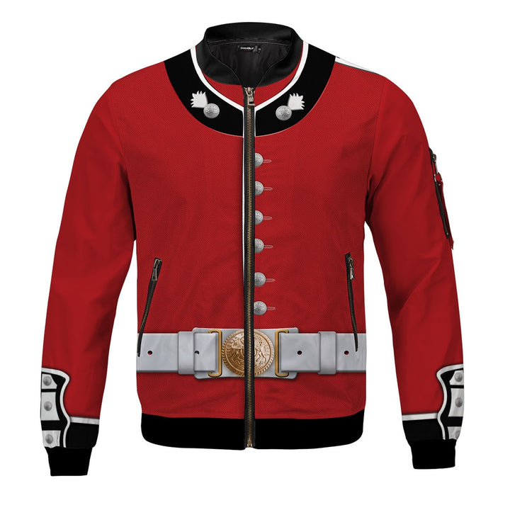 The Queen Guards Uniform United Kingdom Bomber Jacket