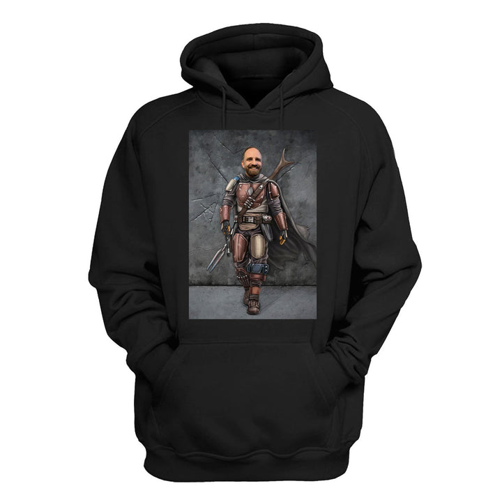 The Bounty Hunter - Custom 2D Hoodie CH03D2