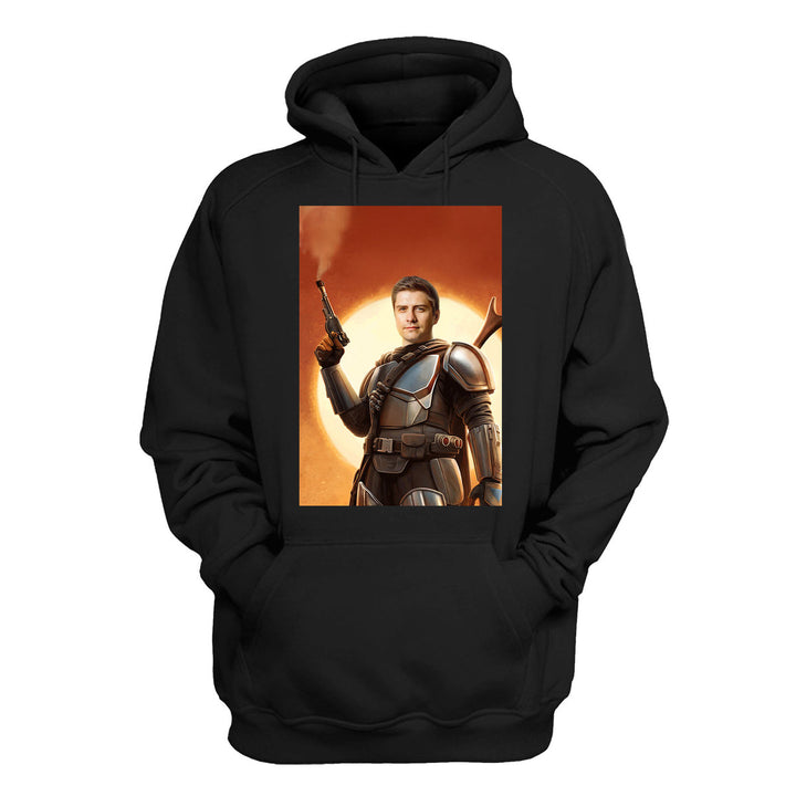The Space Hunter - Custom 2D Hoodie QR2042