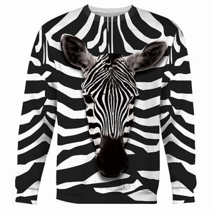 Zebra All Over Print Long Sleeve / S An16220