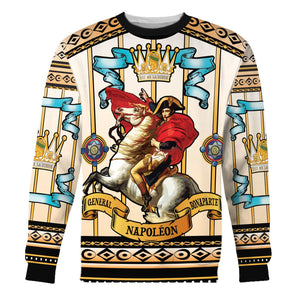 Napoleon Crossing The Alps Long Sleeves / S Hp242