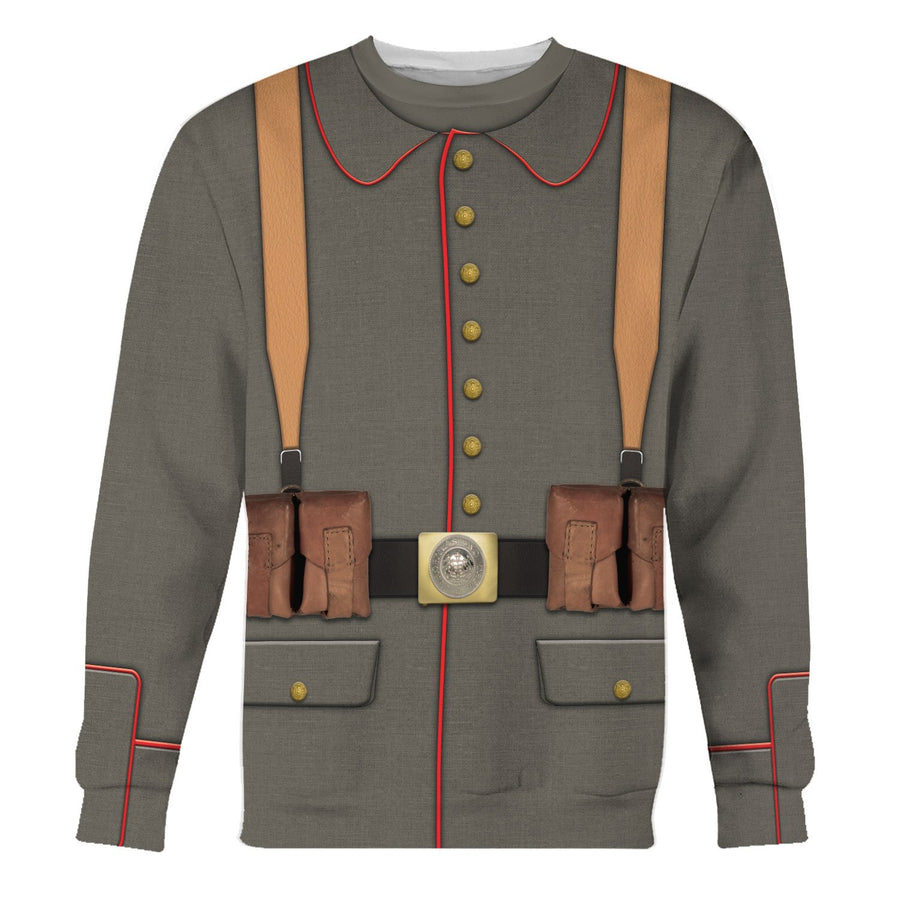 Ww1 German Soldier Long Sleeves / S Vn316