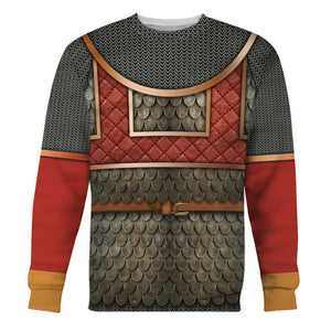 Byzantine Army Soldier Long Sleeves / S Qm634