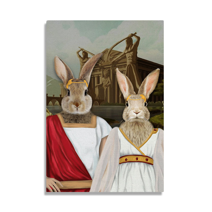 Personalized Greece Traditional Costume - Custom Pet Canvas