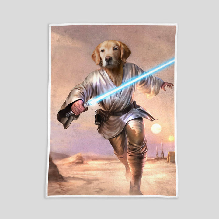 Luke Skywalker - Custom Pet Blanket