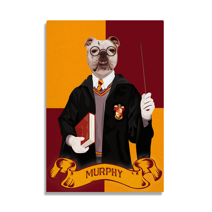 Harry Dogger - Custom Pet Canvas