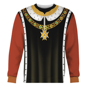 Henry Vi Of England Long Sleeves / S Qm578