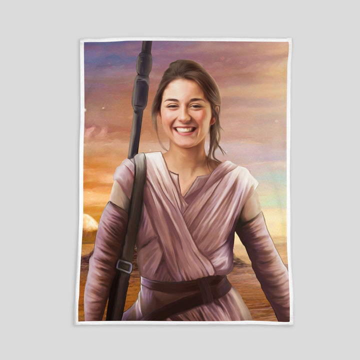 Rey Customized Fleece Blanket