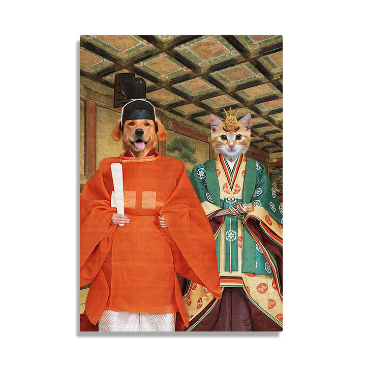 Japan Empire - Custom Pet Canvas