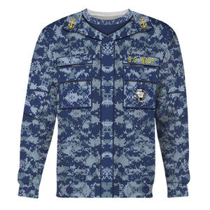 Navy Working Uniform Type I Long Sleeves / S Vn247
