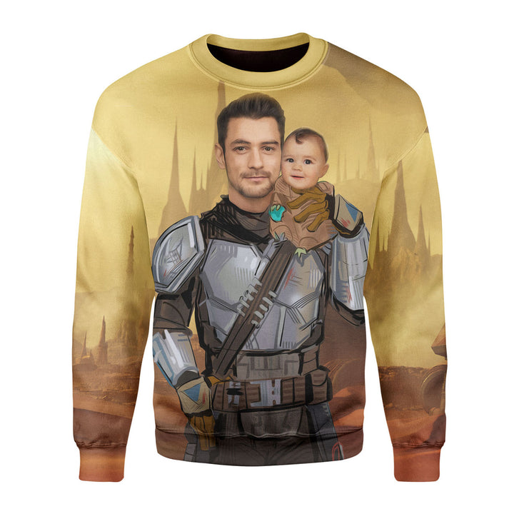 Personalized 3D Long Sleeves The Unclelorian