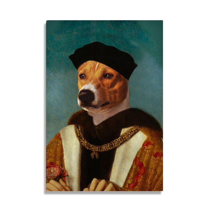 The First of The Tudors Henry VII - Custom Pet Canvas