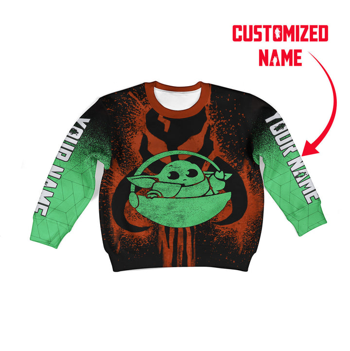 Babylorian Customize Kid Long Sleeves