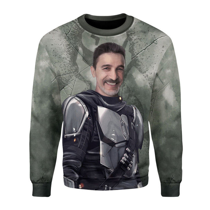 Customized Photo 3D Long Sleeves Unclelorian Beska