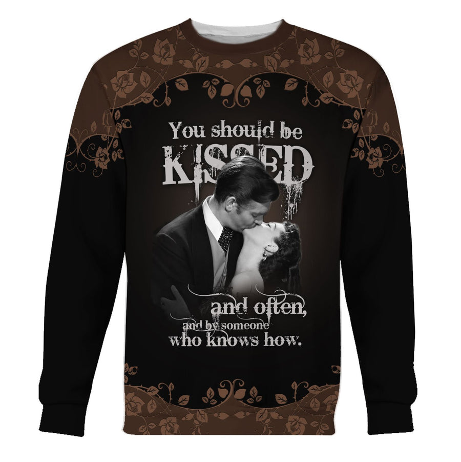 Gone With The Wind Long Sleeves / S Qm1055
