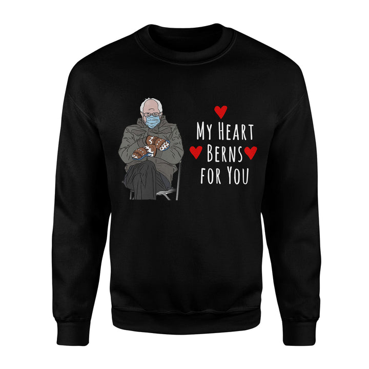 My Heart Berns For You 2D Sweatshirt