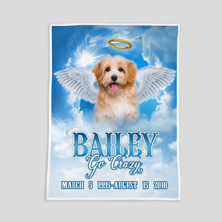 Memorial Custom Pet Blanket