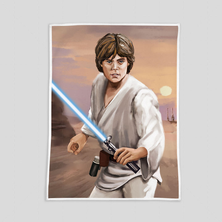 Luke Skywalker - Custom Blanket