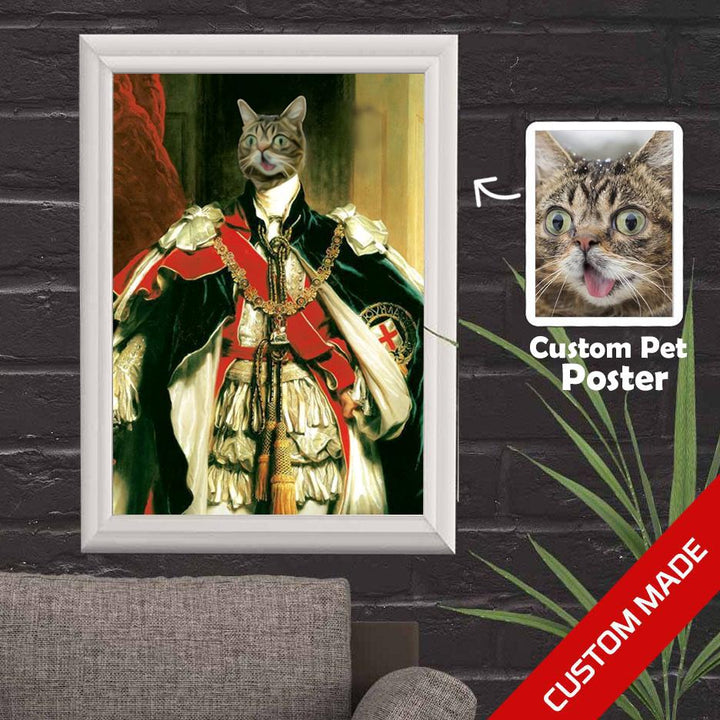 Gearhomies 3D Custom Poster King William Iv Wall Decor