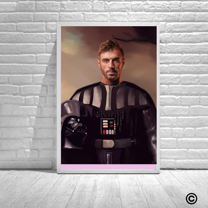 Personalized Photos Poster-3D-ST-CS004 Darth Vader Custom Canvas
