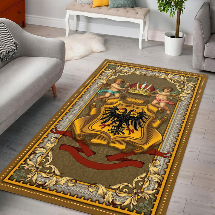 Holy Roman Empire Rug / Small (3 X 5 Feet - 35 59 Inches) Qm1148