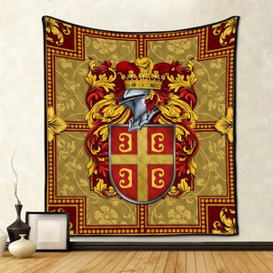 Byzantine Empire Coat Of Arms Quilt / S (37.8 X 44.9 Inches/ 3.1 3.7 Feet) Qm1162