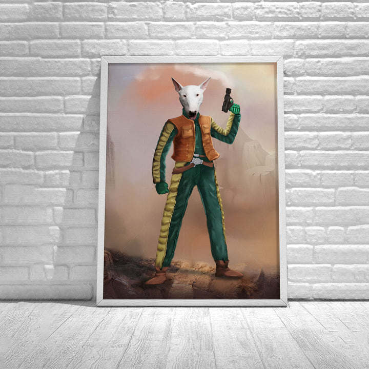 Customized Poster Greedo