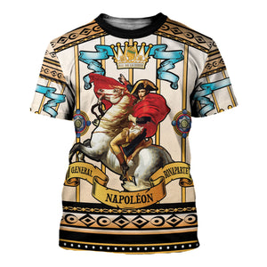 Napoleon Crossing The Alps T-Shirt / S Hp242