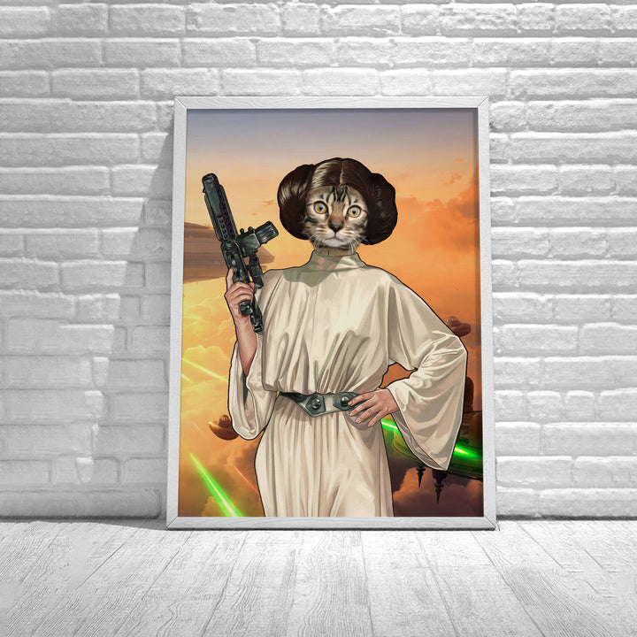 Customized Poster Princess Leia