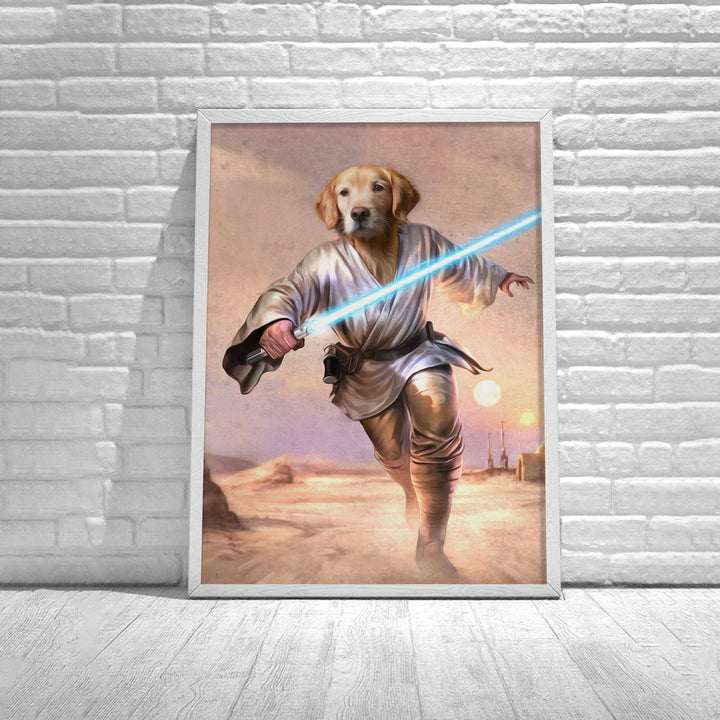 Customized Poster Luke Skywalkerr