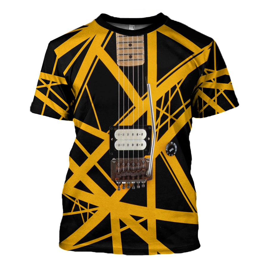 Limited Edition Van Halen Guitar T-Shirt / S Qm1597