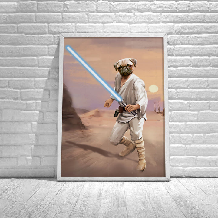 Customized Poster Luke Skywalker