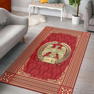 Roman Empire Rug / Small (3 X 5 Feet - 35 59 Inches) Qm1417