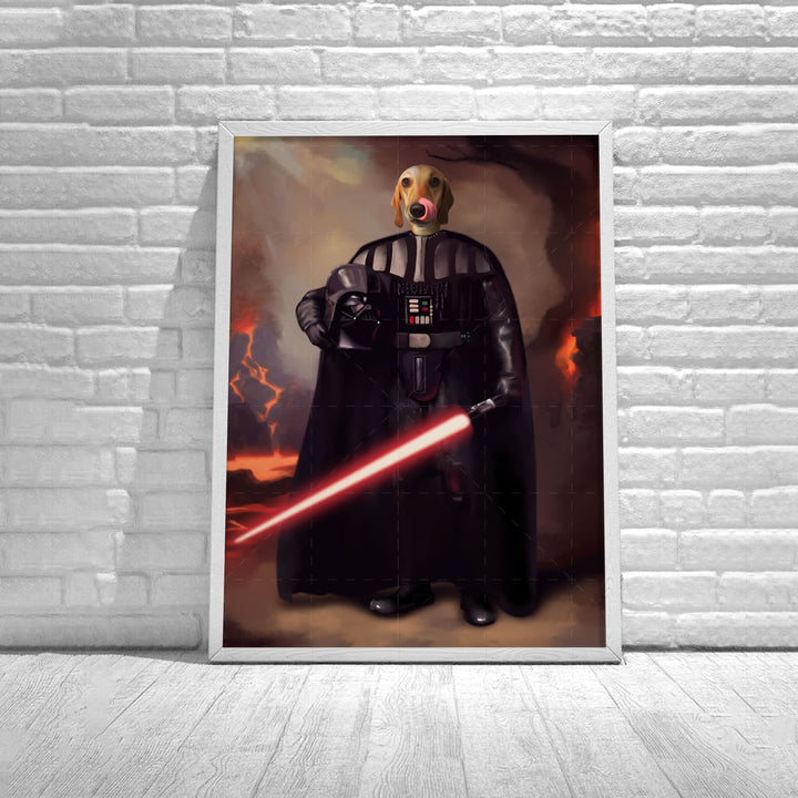 Customized Poster Darth Vader