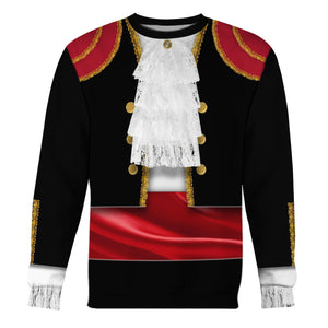 Spaniards In National Costume Long Sleeves / S Vn409
