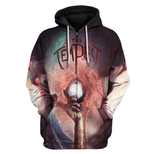 The Tempest - William Shakepeare Zip Hoodie / S Vn784
