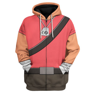 Scout All Over Print Vn123 Zip Hoodie / S