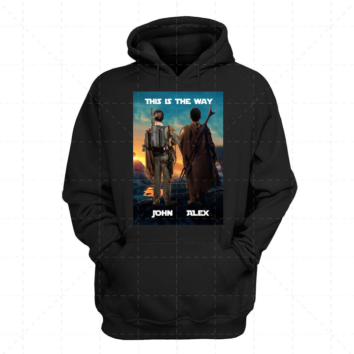 Personalized 2D Hoodie The Brodalorian