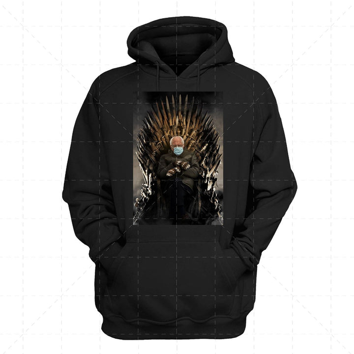 Bernie Meme Game of Thrones 2D Hoodie