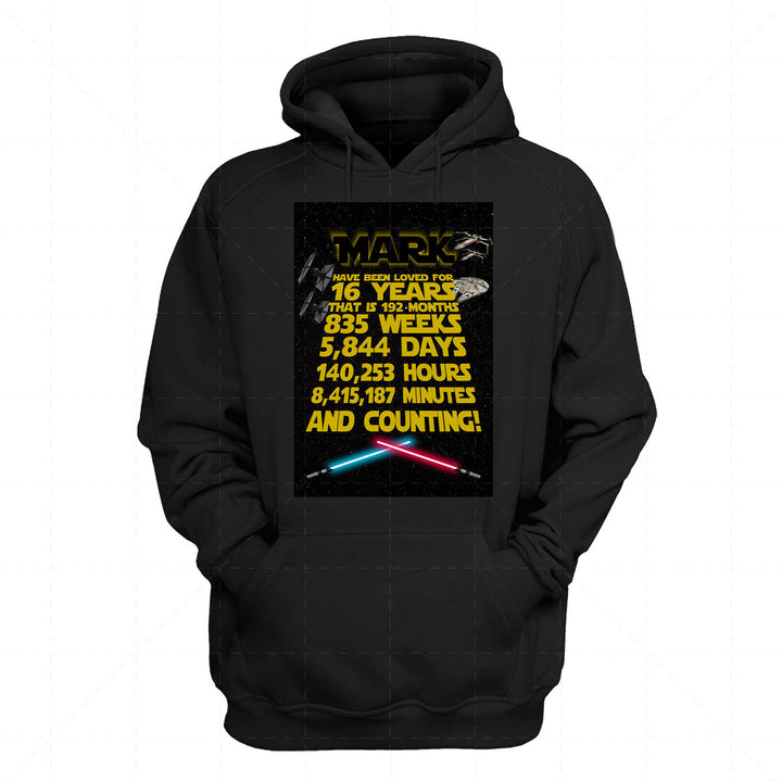 Customized 2D Hoodie - You Have Been Loved