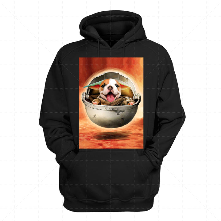 Pug Dog Baby - Custom Pet 2D Hoodie