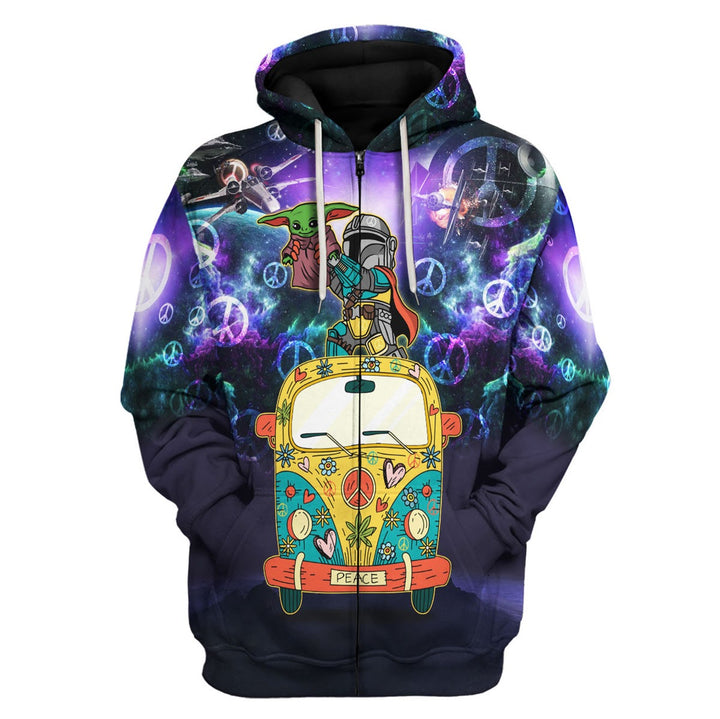 Here For The King Never Forget Who You Are 3D Fleece Zip Hoodie