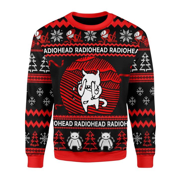 Radiohead Ugly Christmas Sweater / S Kd398