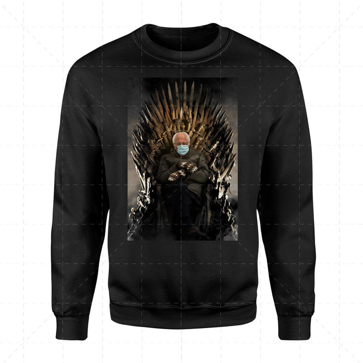 Bernie Meme Game of Thrones 2D Sweatshirt